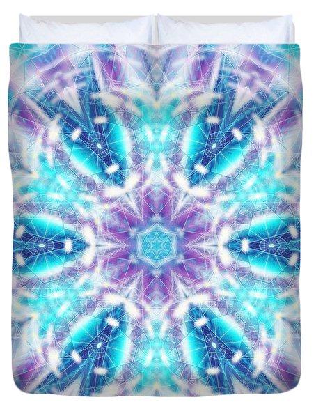 Duvet Cover featuring the digital art Mystic Universe 1 Kk2 by Derek Gedney