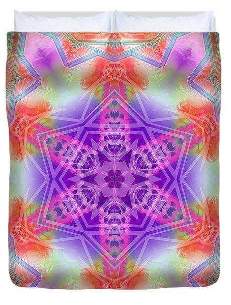 Duvet Cover featuring the digital art Mystic Universe 3 Kk2 by Derek Gedney