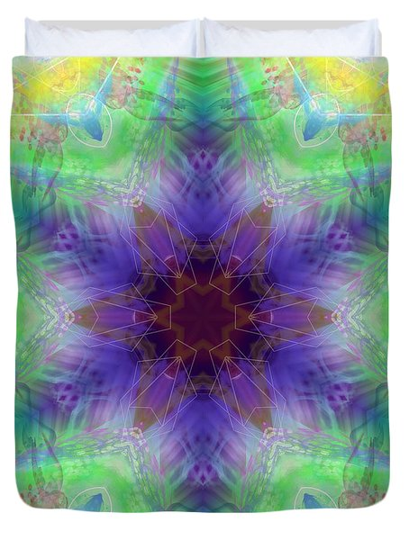 Duvet Cover featuring the digital art Mystic Universe 4 Kk2 by Derek Gedney