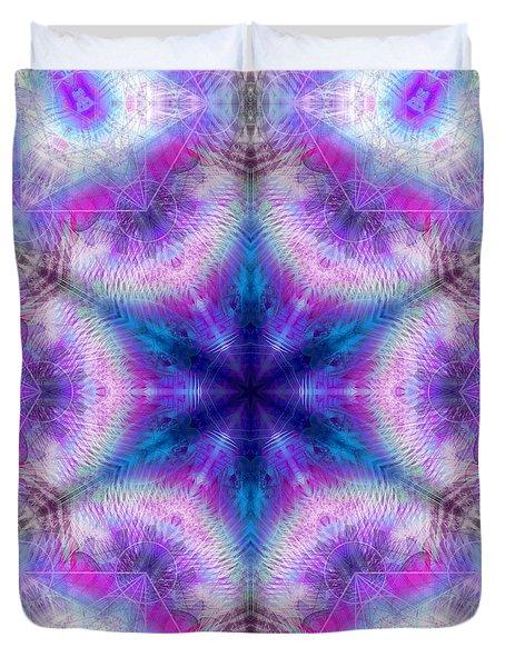Duvet Cover featuring the digital art Mystic Universe 5 Kk2 by Derek Gedney