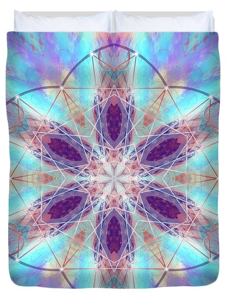 Duvet Cover featuring the digital art Mystic Universe 6 Kk2 by Derek Gedney