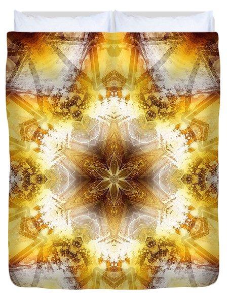 Duvet Cover featuring the digital art Mystic Universe 7 Kk2 by Derek Gedney