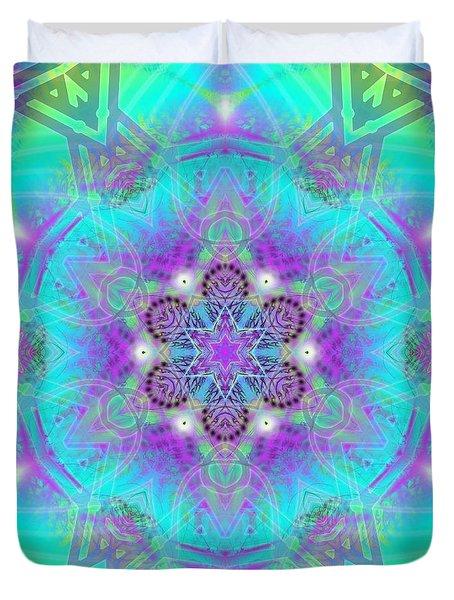 Duvet Cover featuring the digital art Mystic Universe 8 Kk2 by Derek Gedney