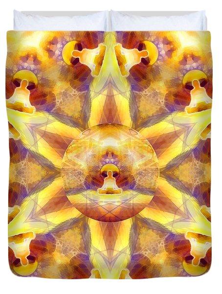 Duvet Cover featuring the digital art Mystic Universe Kk 14 by Derek Gedney