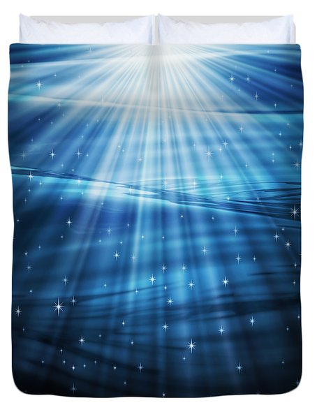 Mystic Waters Duvet Cover