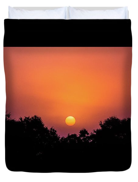 Duvet Cover featuring the photograph Mystical And Dramatic by Shelby Young