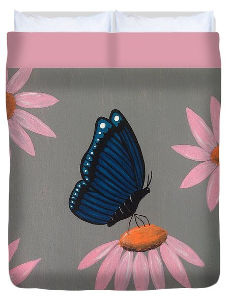 Mystical Butterfly Duvet Cover