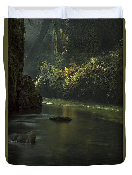 Mystical Canyon Duvet Cover