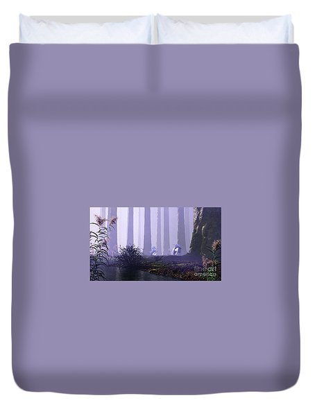 Mystical Forest Duvet Cover