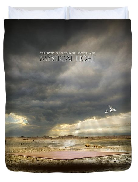 Mystical Light Duvet Cover