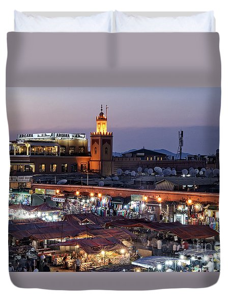 Mystical Marrakech Duvet Cover