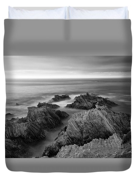 Mystical Moment Bw Duvet Cover