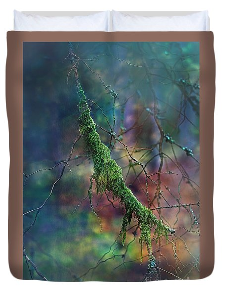 Mystical Moss - Series 1/2 Duvet Cover by Agnieszka Mlicka