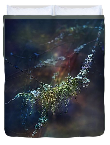 Mystical Moss - Series 2/2 Duvet Cover by Agnieszka Mlicka