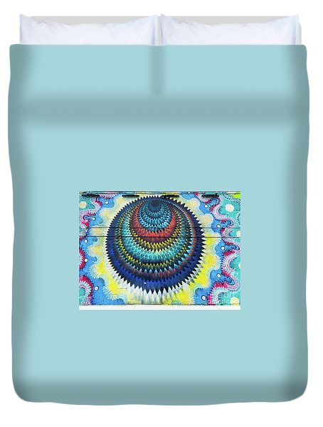 Mystical Ride Duvet Cover