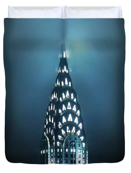 Mystical Spires Duvet Cover