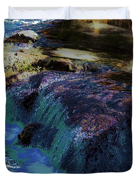 Mystical Springs Duvet Cover