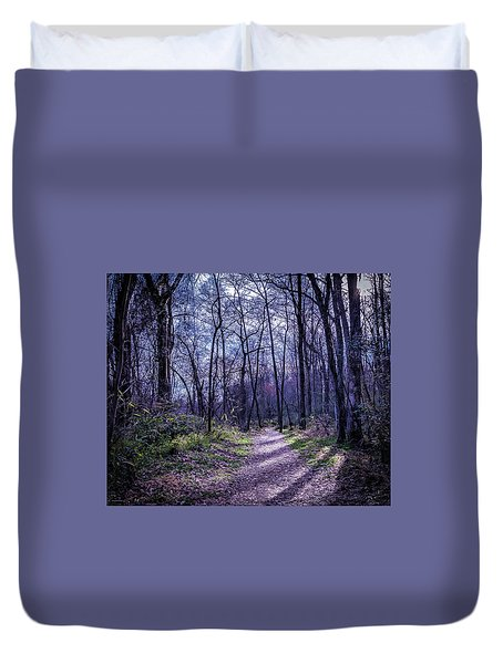 Mystical Trail Duvet Cover
