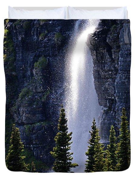 Mystical Waterfall Duvet Cover