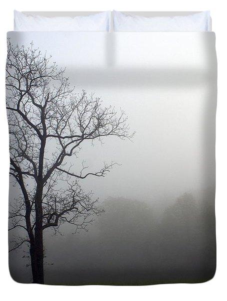 Mysty Tree Duvet Cover by Marty Koch