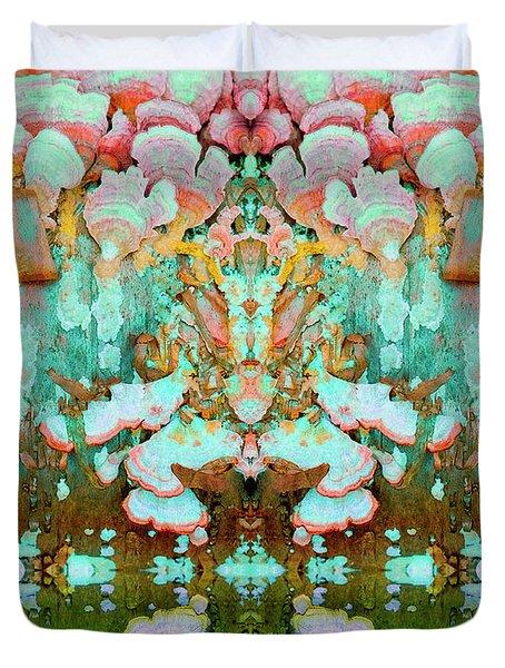 Mythic Throne Duvet Cover