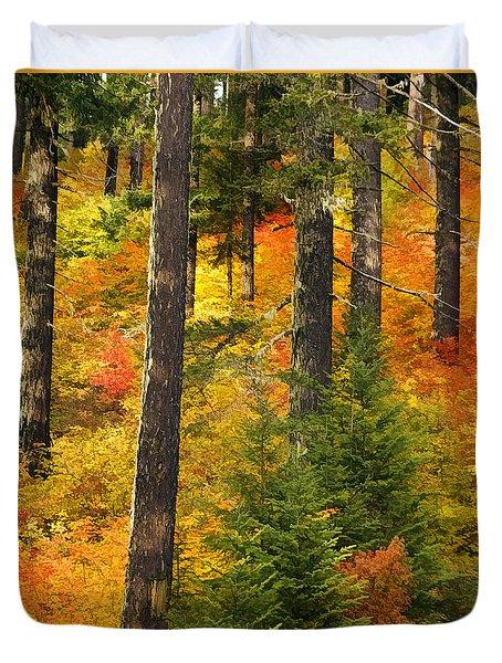 N W Autumn Duvet Cover