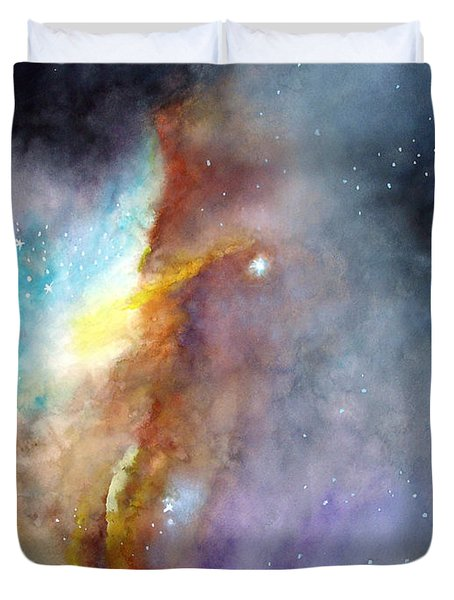 N11b Large Magellanic Cloud Duvet Cover