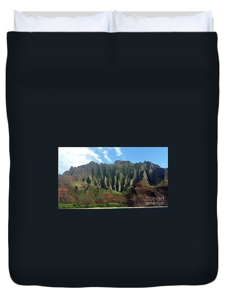 Na Pali Coast Duvet Cover