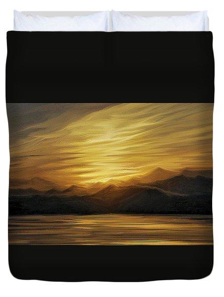 Naama Bay, Egypt Duvet Cover