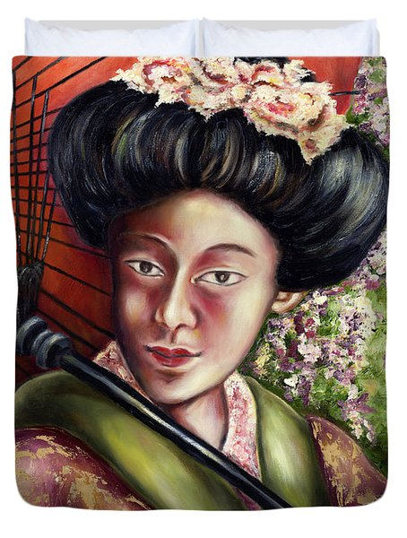 Nadeshiko Duvet Cover