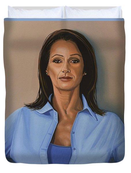 Nadia Comaneci Duvet Cover