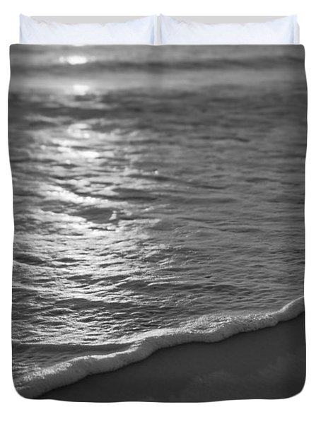 Nags Head First Light Bw Duvet Cover