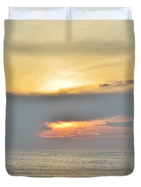 Nags Head Sunrise 7/24/16 Duvet Cover