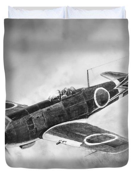Nakajima Ki84 Duvet Cover