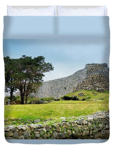 Nakajin Castle Duvet Cover