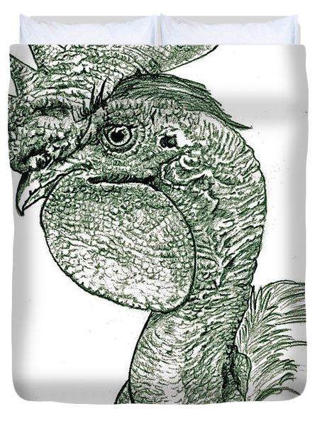 Naked Neck Rooster Duvet Cover