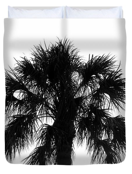 Naked Palm Duvet Cover by David Lee Thompson