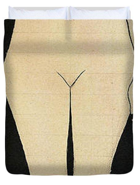 Naked Truth Duvet Cover