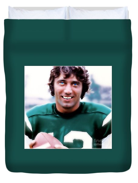 Namath Duvet Cover by Wbk
