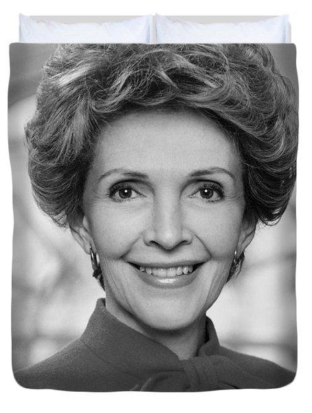 Nancy Reagan Official Portrait  Duvet Cover