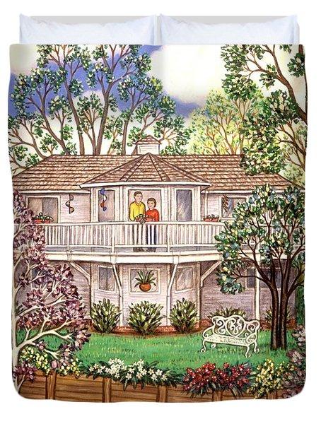 Nancy's House Duvet Cover by Linda Mears