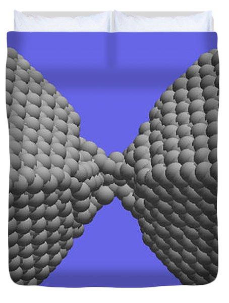 Nanoscale Ductility, 1 Of 2 Duvet Cover
