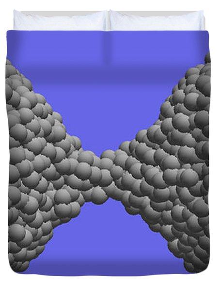 Nanoscale Ductility, 2 Of 2 Duvet Cover