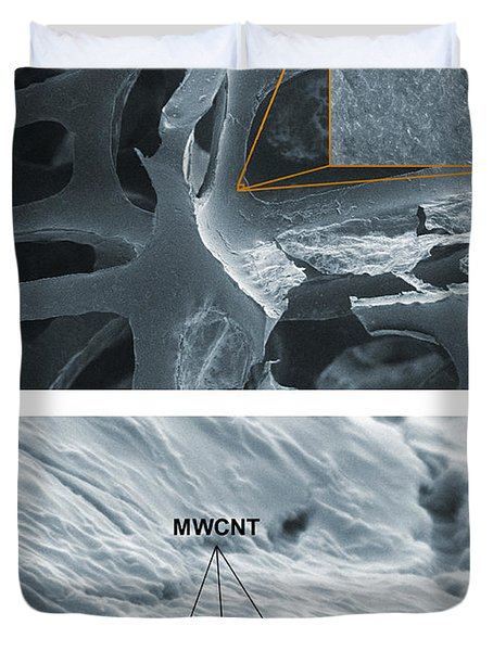 Nanotubes, Flame-resistant Coating, Sem Duvet Cover