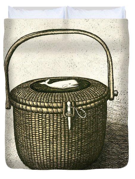 Nantucket Basket Duvet Cover