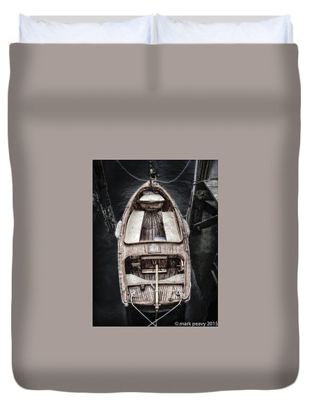 Nantucket Boat Duvet Cover