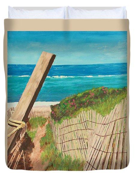 Nantucket Dream Duvet Cover by Cynthia Morgan