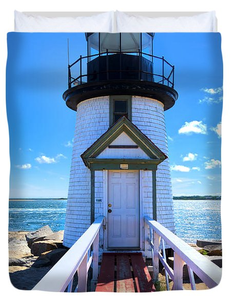 Nantucket Lighthouse - Y3 Duvet Cover
