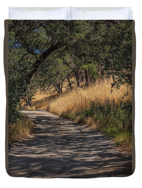 Napa Road Duvet Cover by David Cote