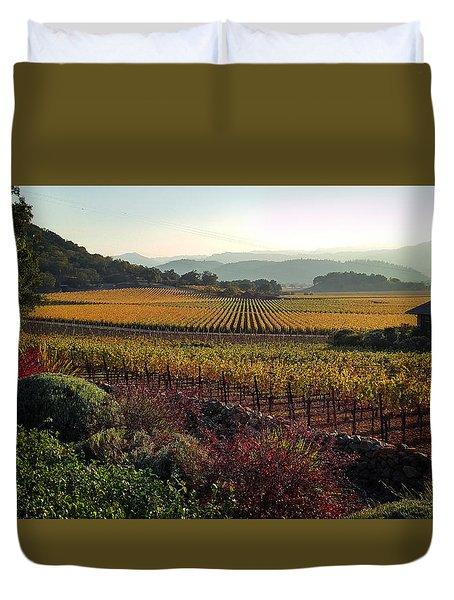 Napa Valley California Duvet Cover
